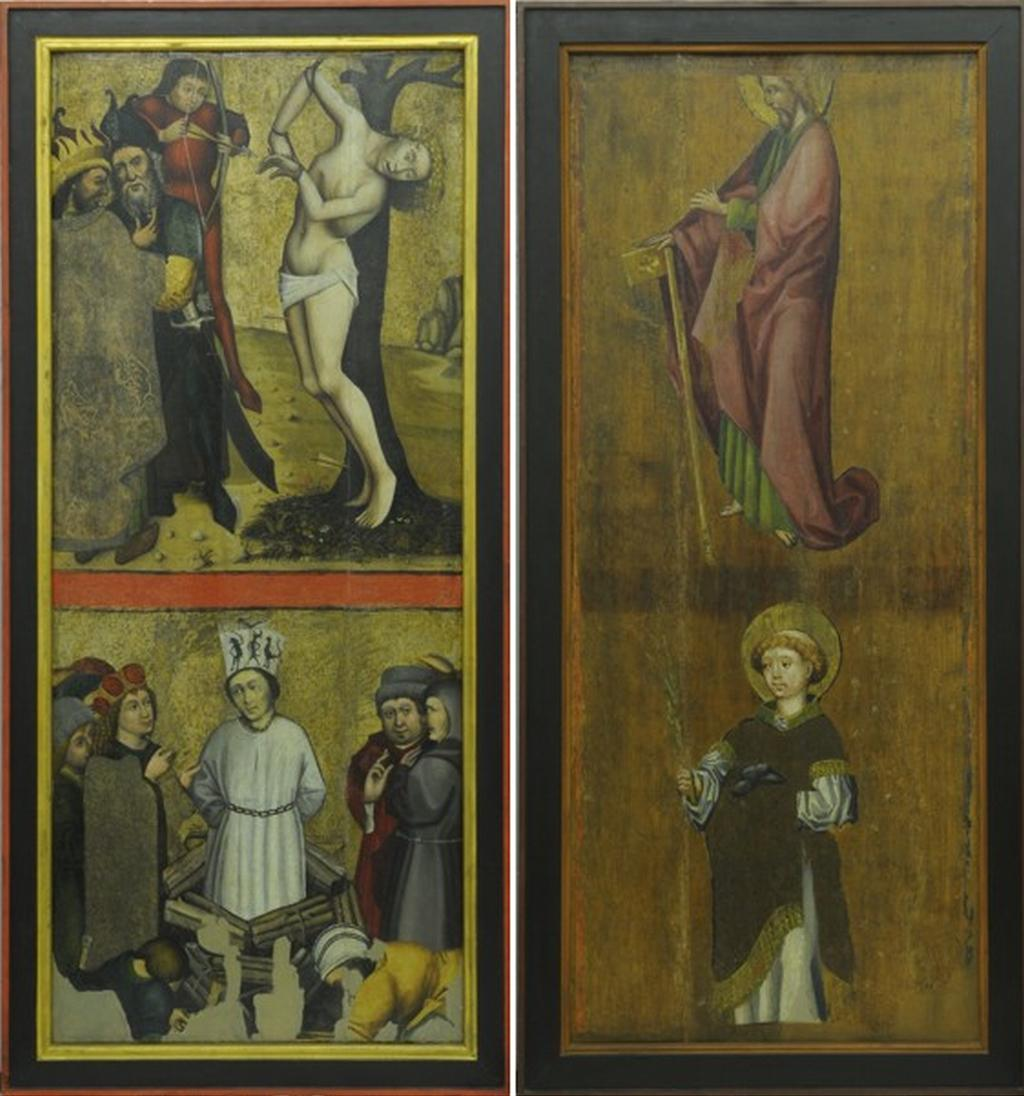 Oltářní křídla z Roudník