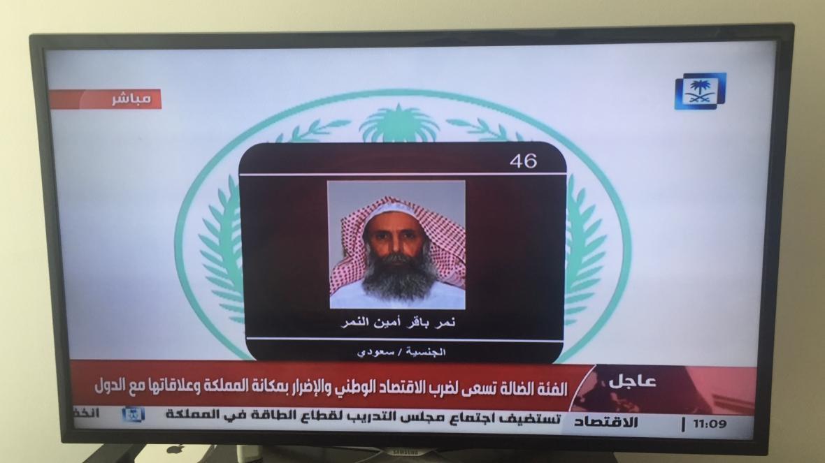 Mezi popravenými je i duchovní al-Nimra