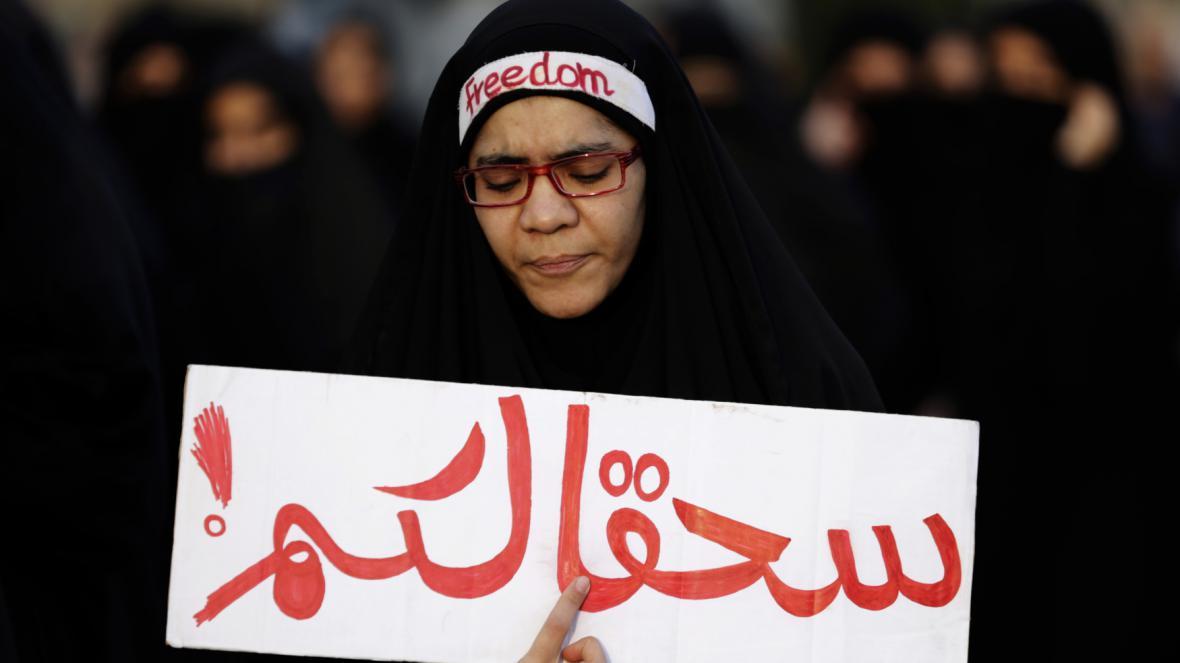 Protesty proti Nimrově popravě v Bahrajnu