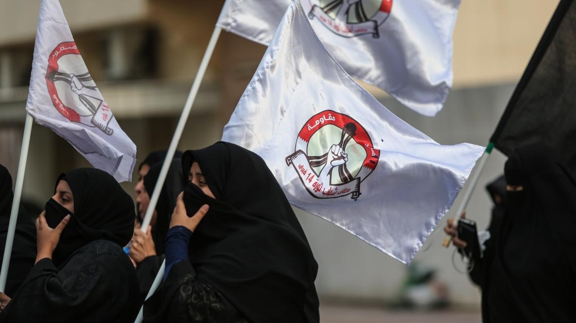 Protesty proti popravě šajcha Nimra v Bahrajnu