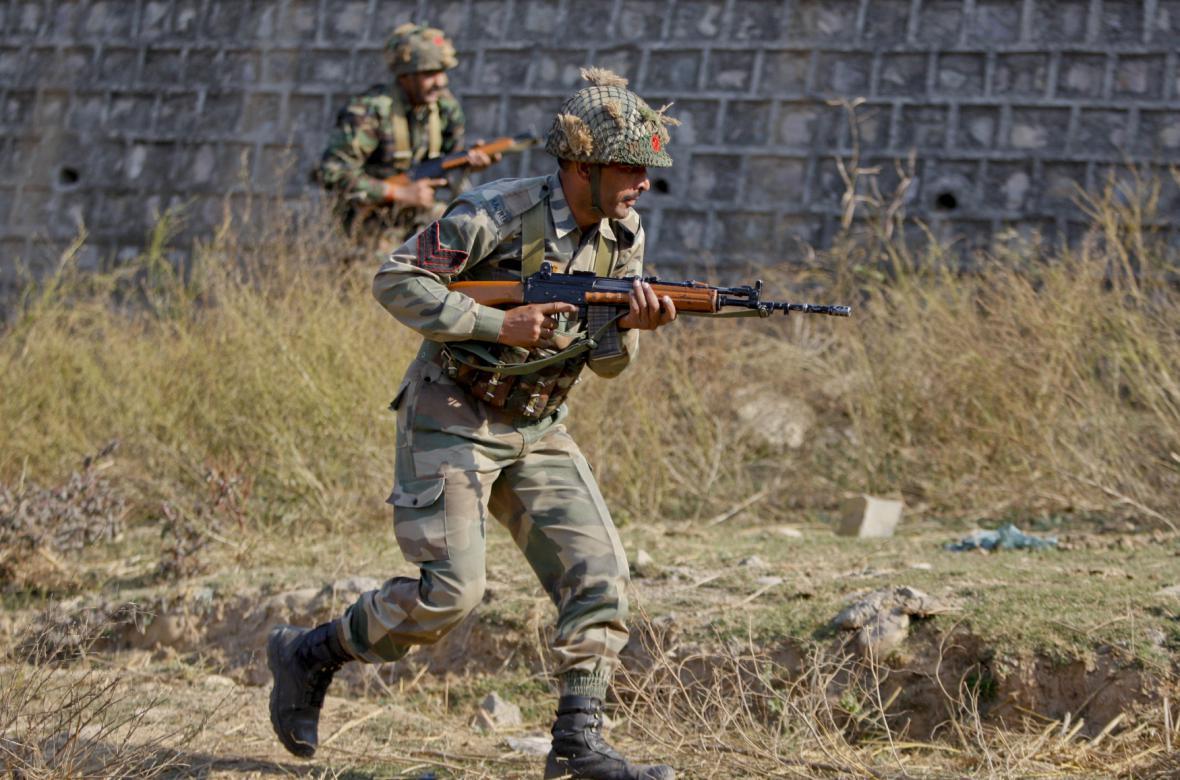 Indičtí vojáci