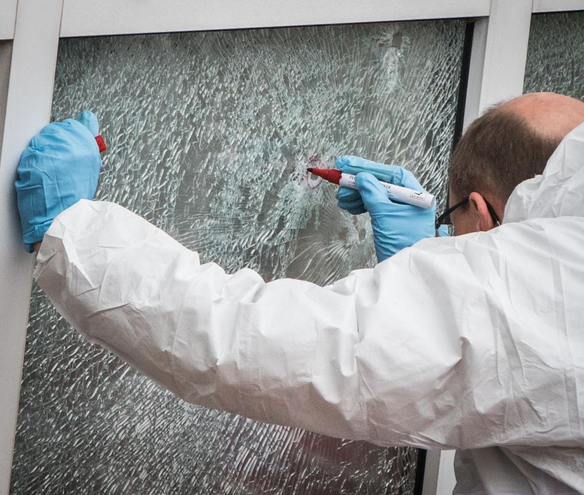 Střelba na německou ubytovnu pro azylanty