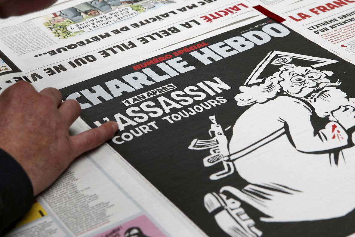 Zvláštní vydání Charlie Hebdo rok po útocích