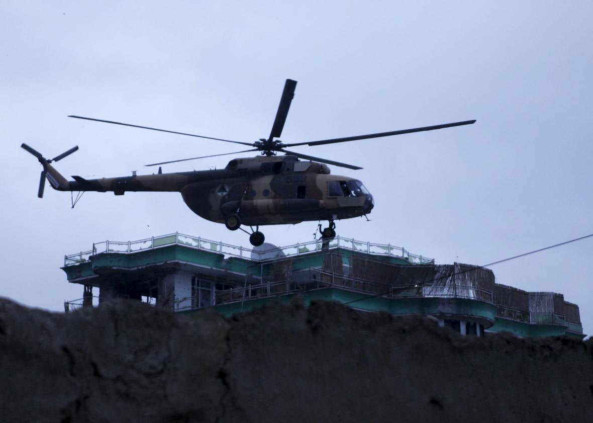 Operace afghánské armády ve městě Mazáre Šaríf