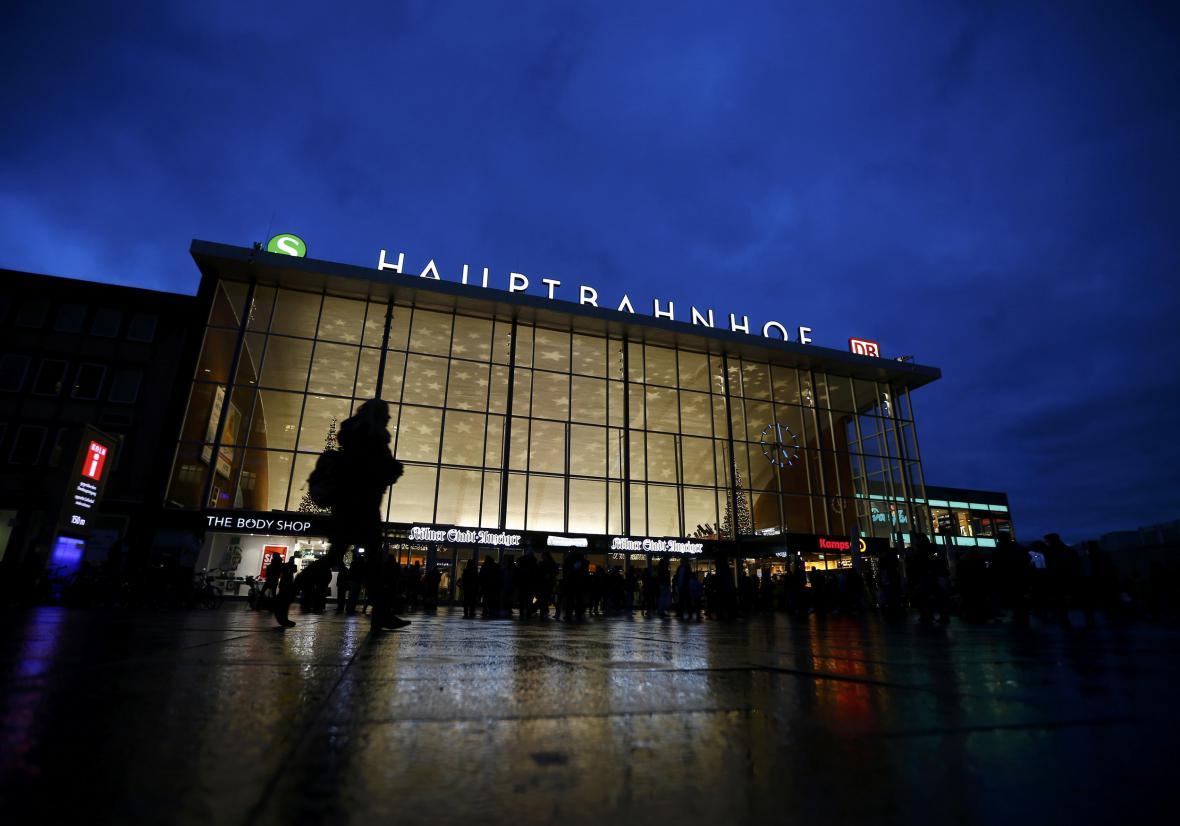 Nádraží v Kolíně nad Rýnem