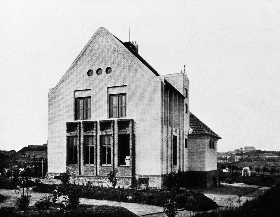 Z knihy Česká architektonická avantgarda