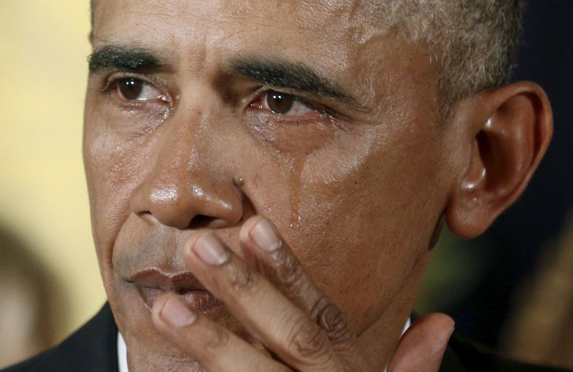 Slzy Baracka Obamy