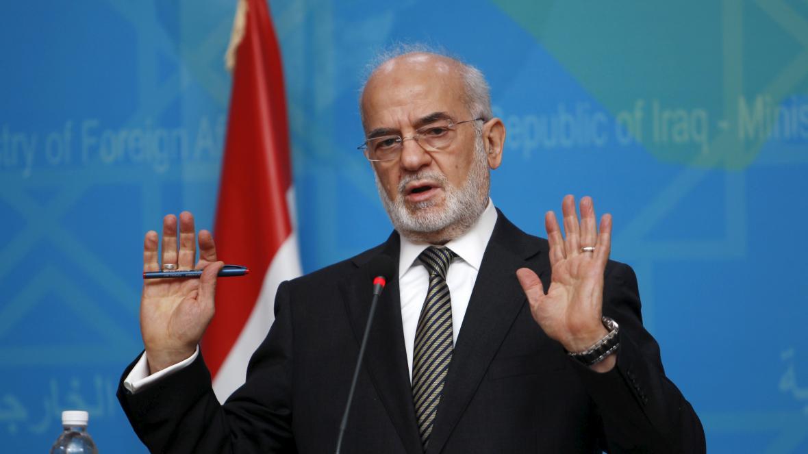 Irácký ministr zahraničí Ibráhím Džaafarí