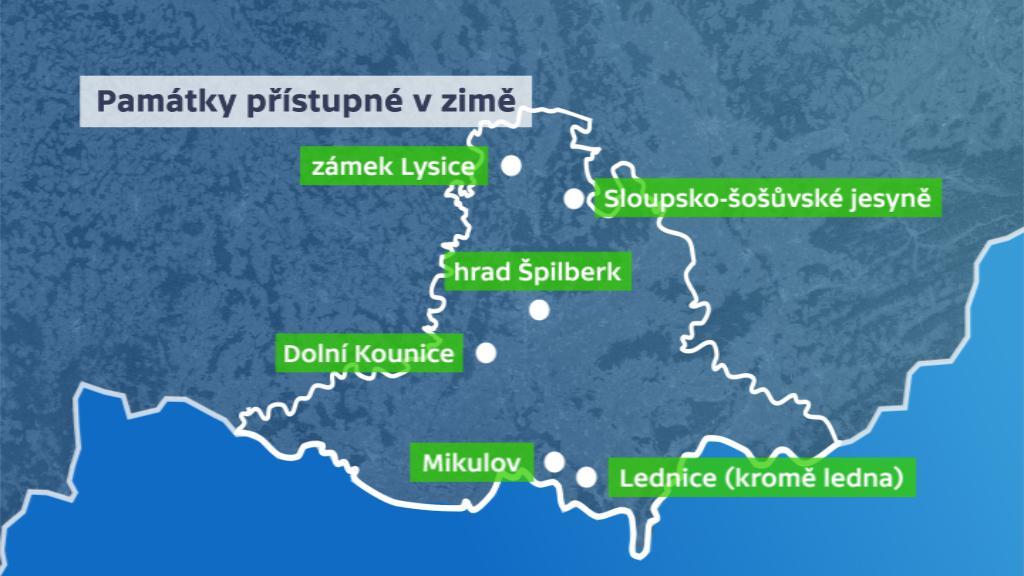 Přístupné památky na Jižní Moravě