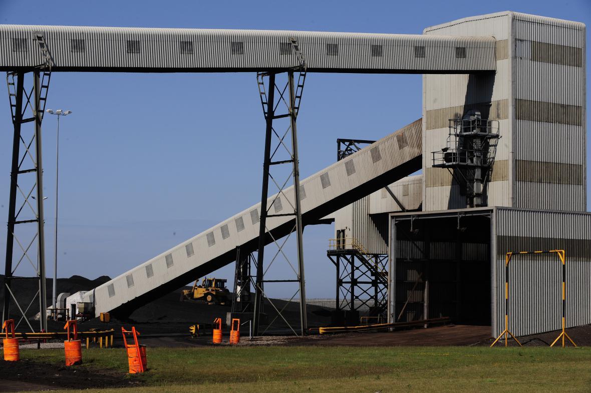 Část uhelné elektrárny v Lynemouth.