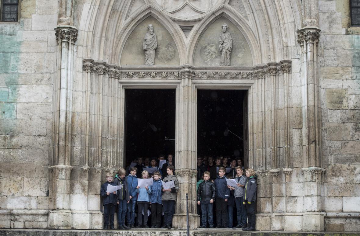 Chlapecký sbor Řezenští chrámoví vrabci