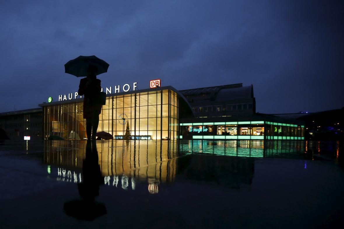 Hlavní nádraží v Kolíně nad Rýnem