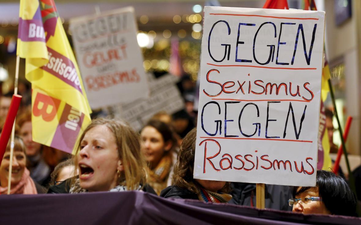 Demonstrace v Kolíně