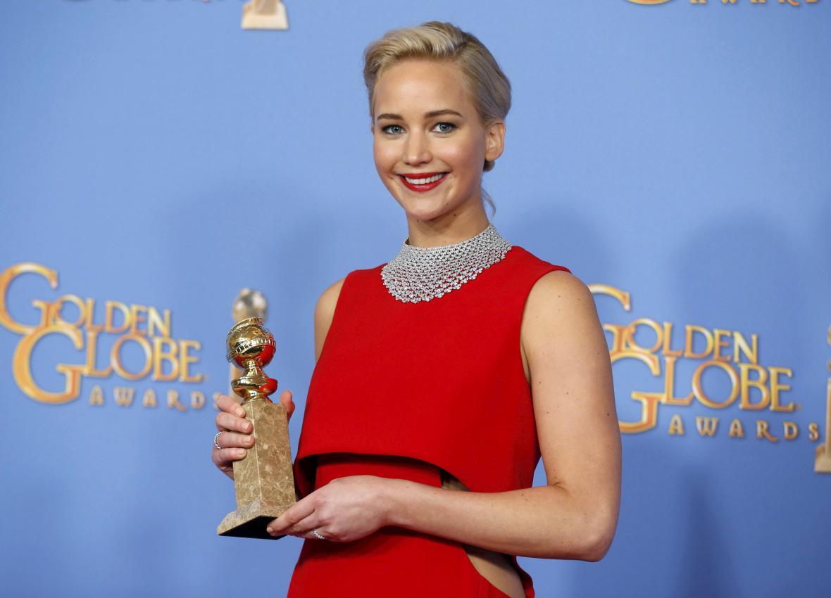 Herečka Jennifer Lawrence