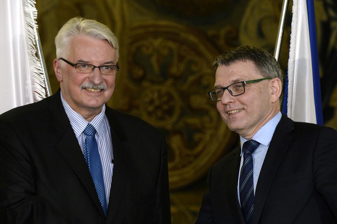 Witold Waszczykowski a Lubomír Zaorálek