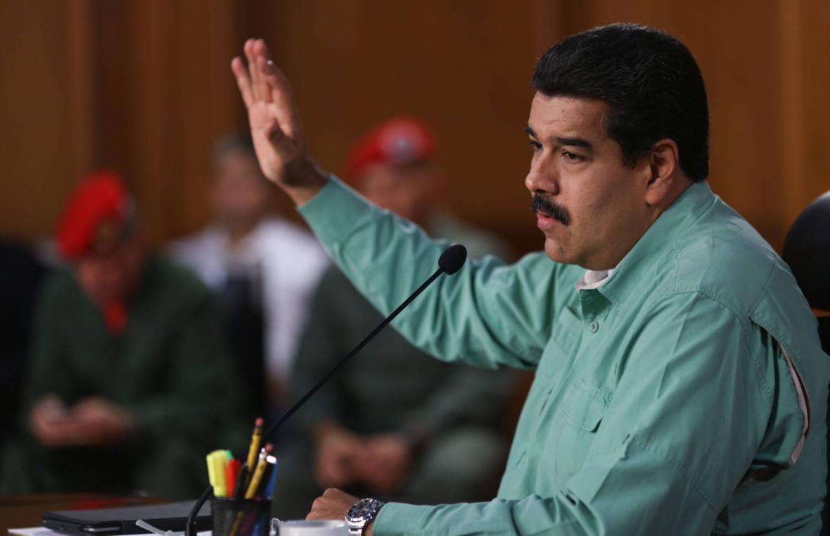 Prezident Nicolás Maduro