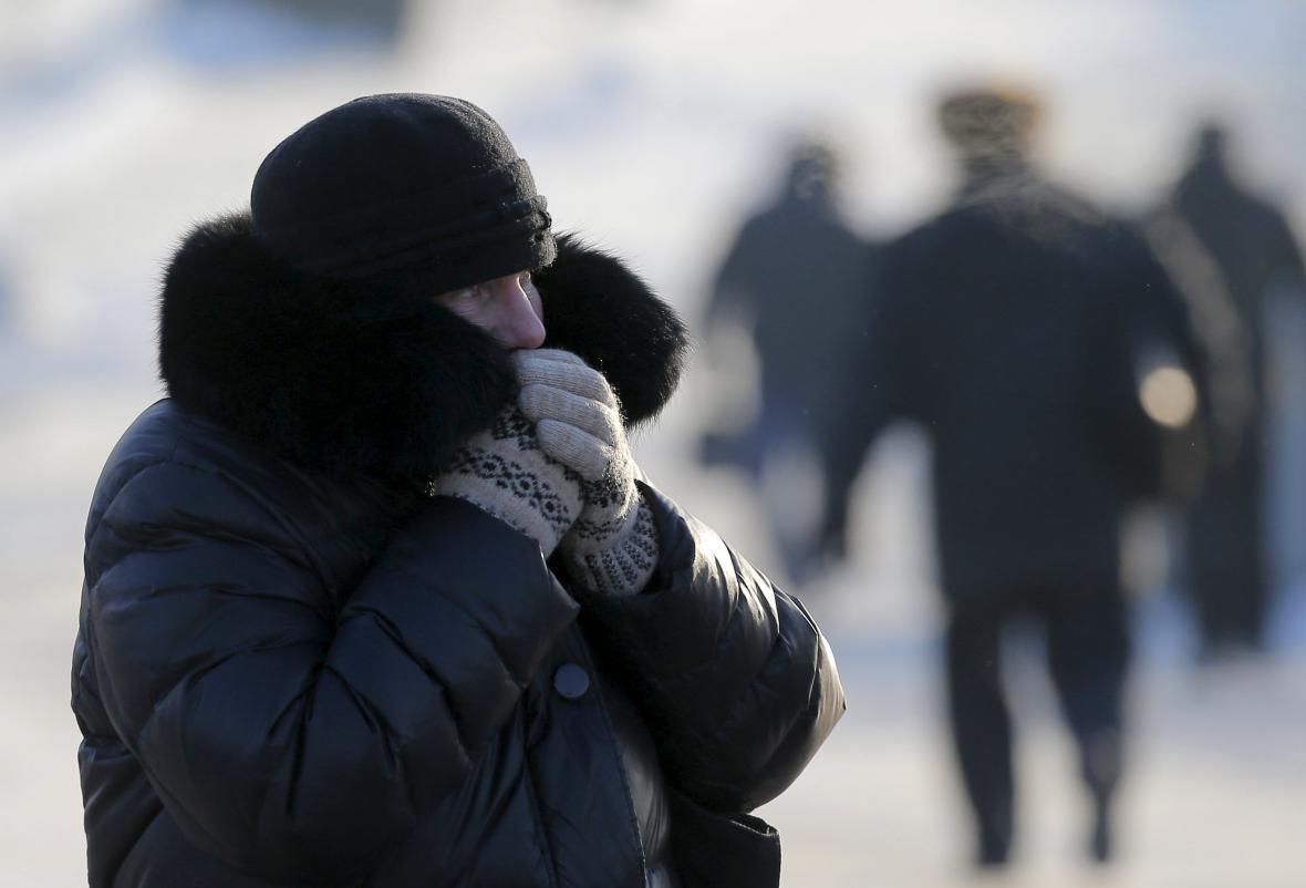 Zima v Moskvě