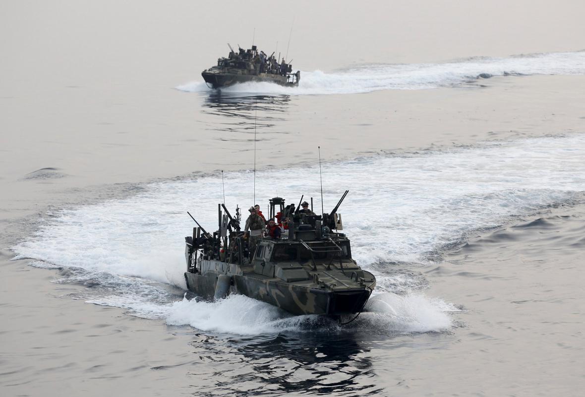 Americké námořní cvičení