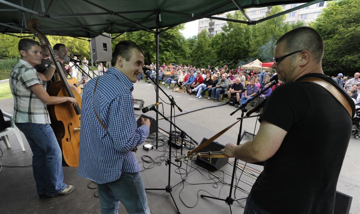 Skupina Stop Time na festivalu Porta