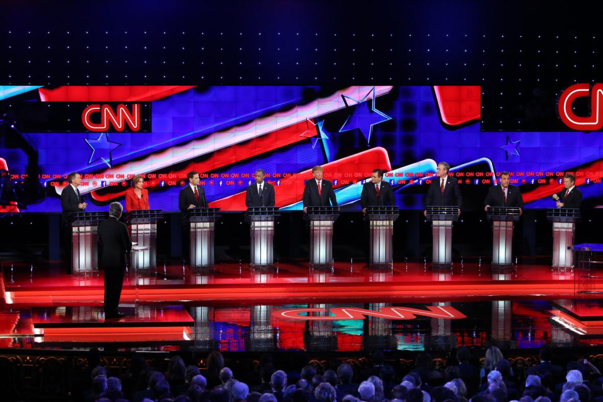 Debata republikánů před primárkami