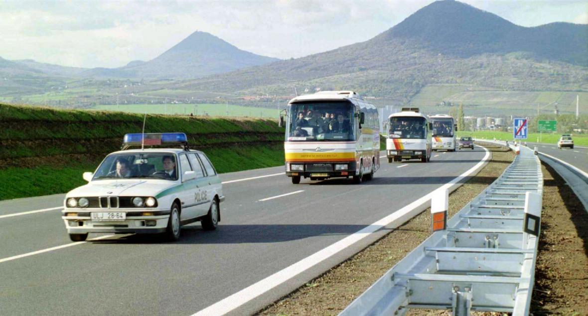 Otevření dálnice do Lovosic