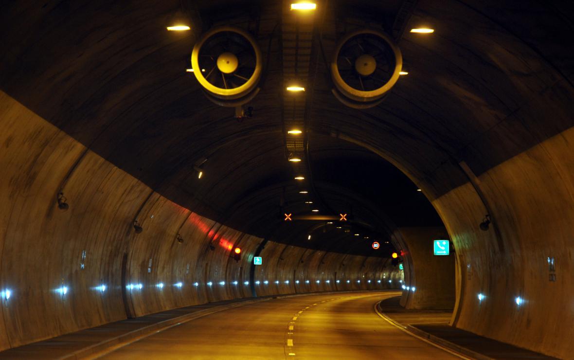 Tunel Panenská