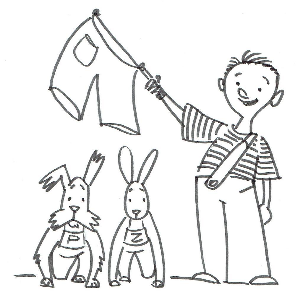 Ilustrace Jaroslava Milfajta k Novému povídání o pejskovi a kočičce