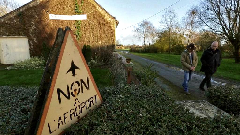 Kvůli novému letišti v Nantes hrozí 11 rodinám vystěhování
