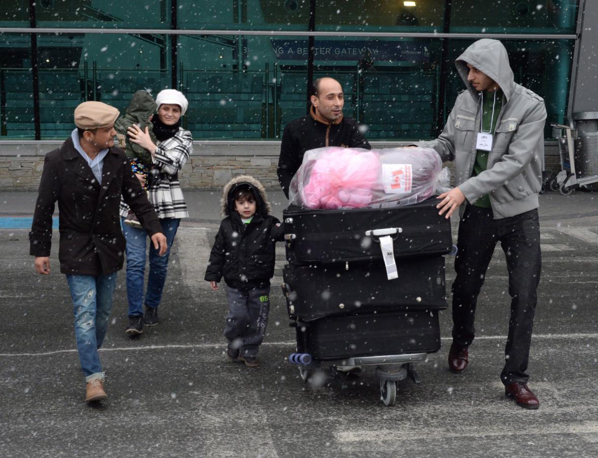 Uprchlíci v Kanadě