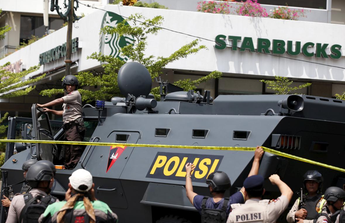 Útok v Jakartě