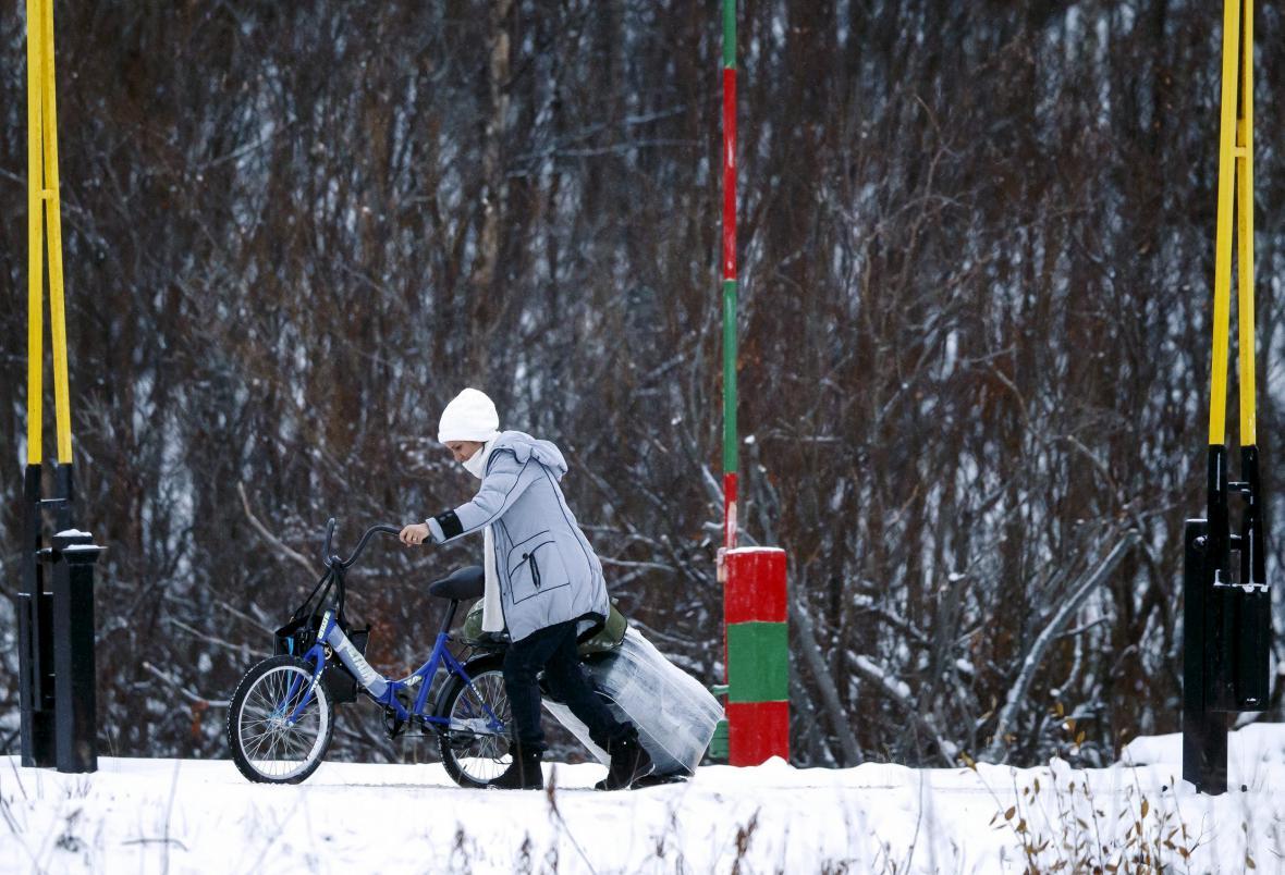 Na kole se do Norska dostaly tisíce uprchlíků