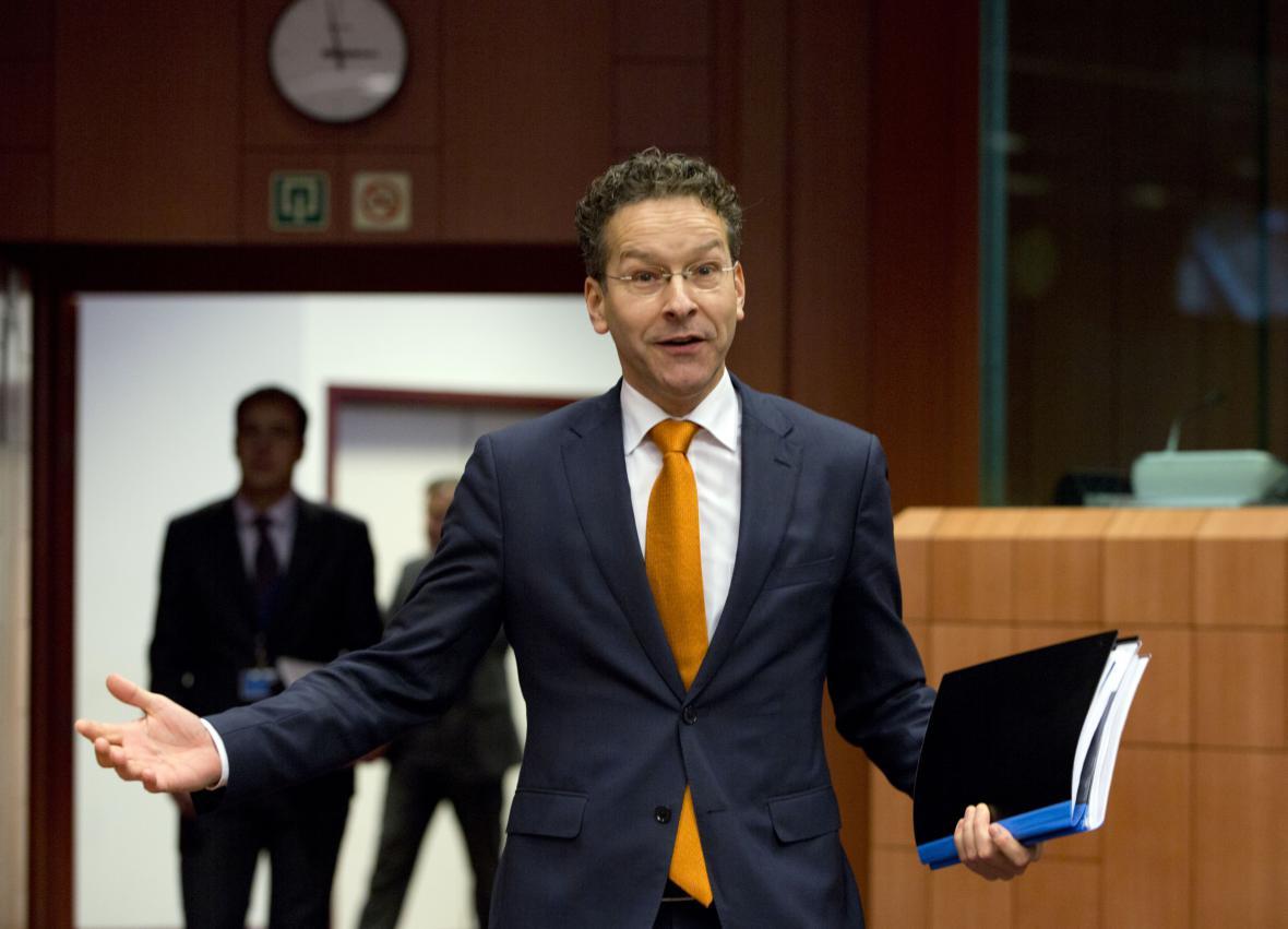 šéf euroskupiny Jeroen Dijsselbloem