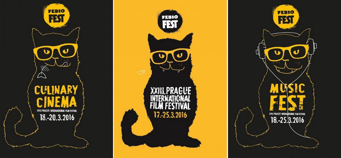 Plakáty Febiofestu 2016