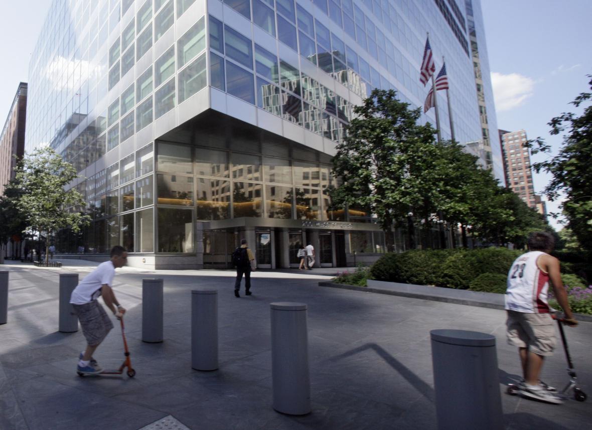 Sídlo americké investiční banky Goldman Sachs