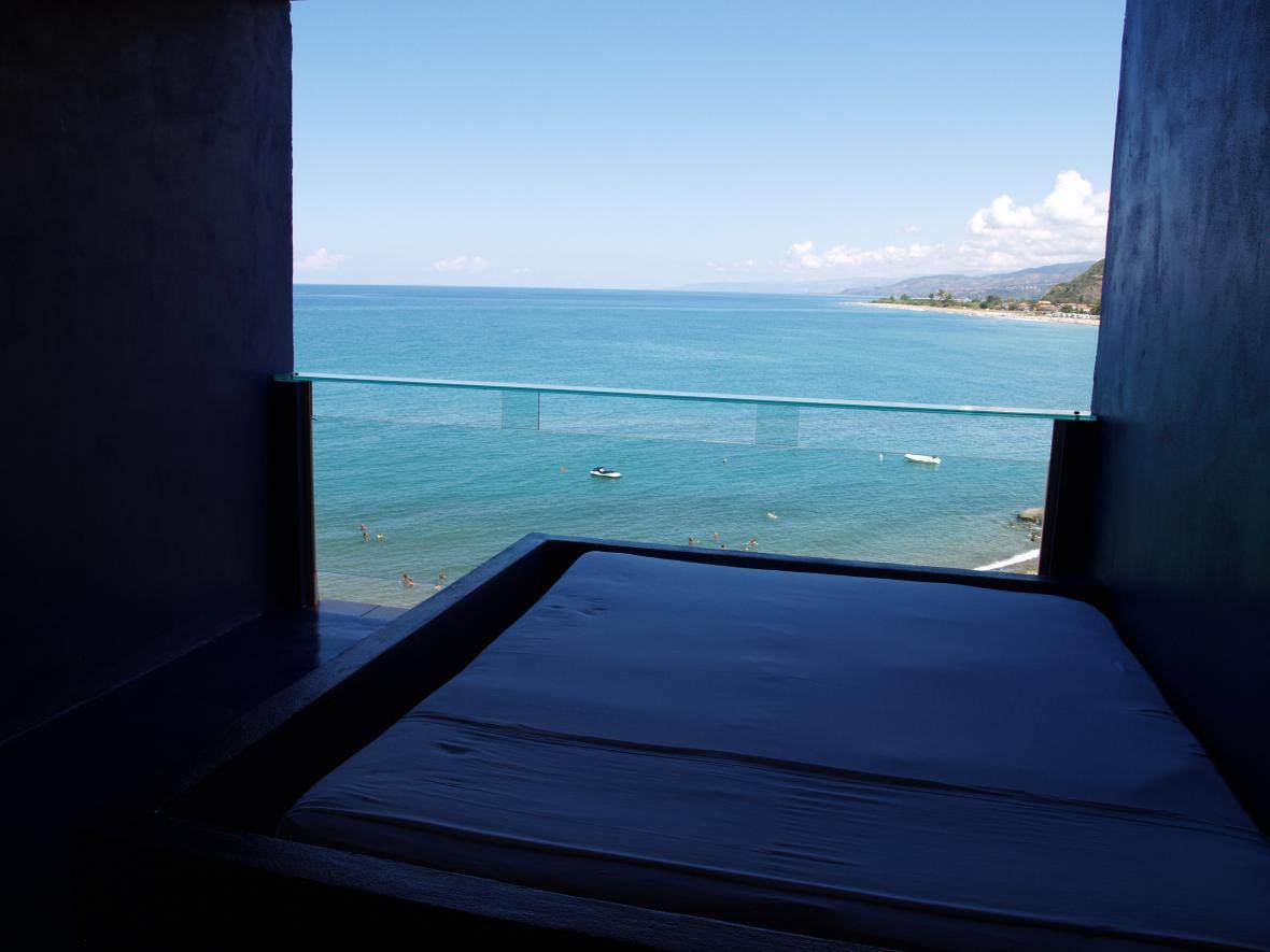 Balkon běžného pokoje