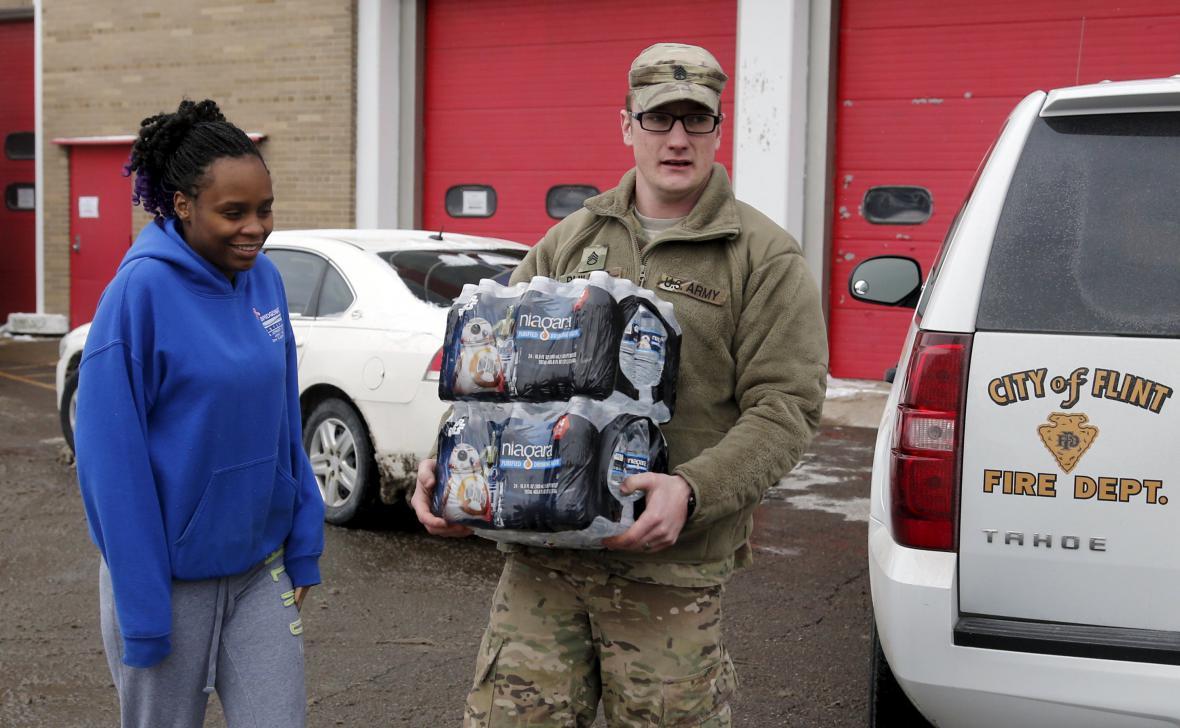 Americký Flint má ve vodě olovo