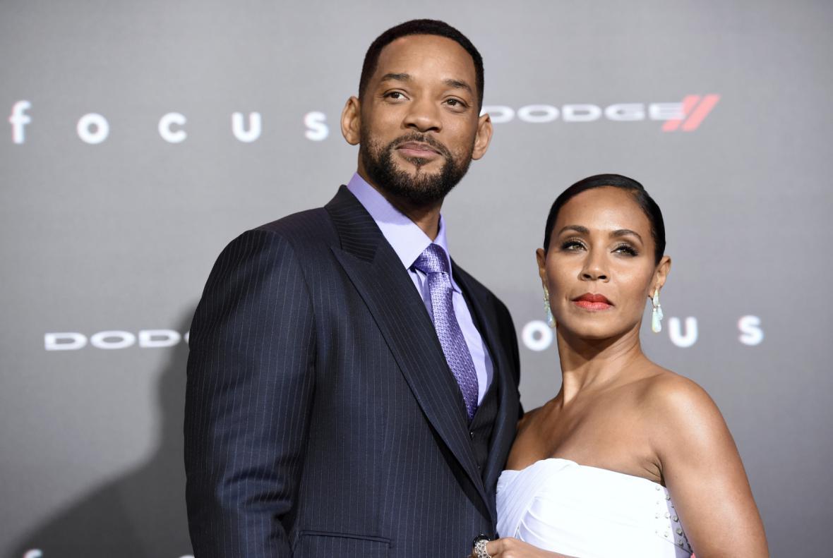 Will Smith s manželkou Jadou