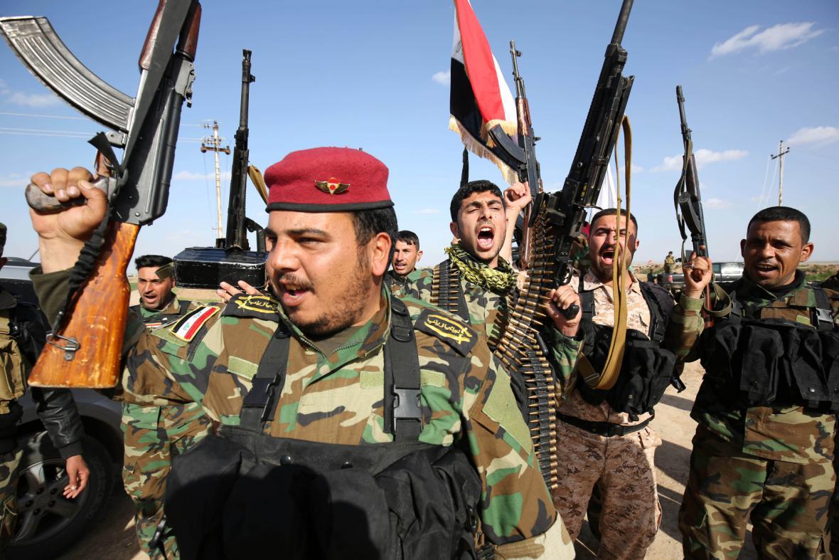 Šíitské milice v Iráku