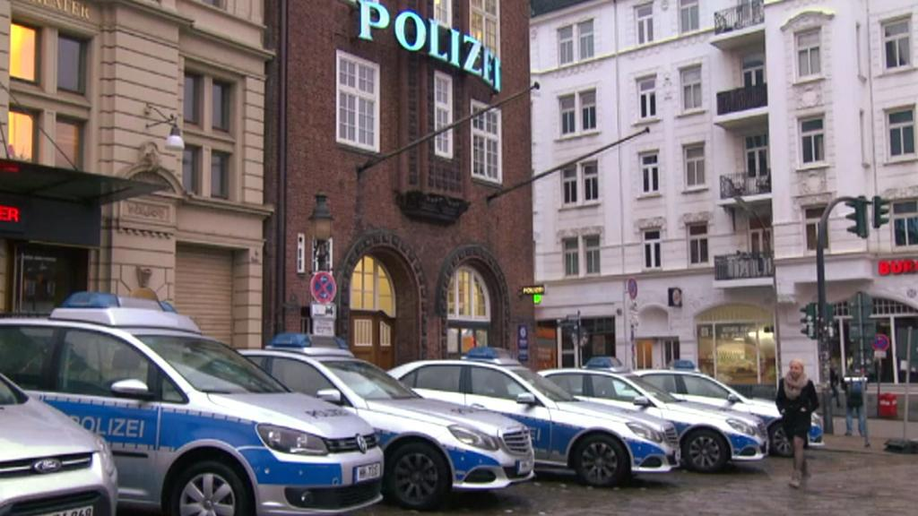 Policejnáí stanice v hamburském Reeperbahn