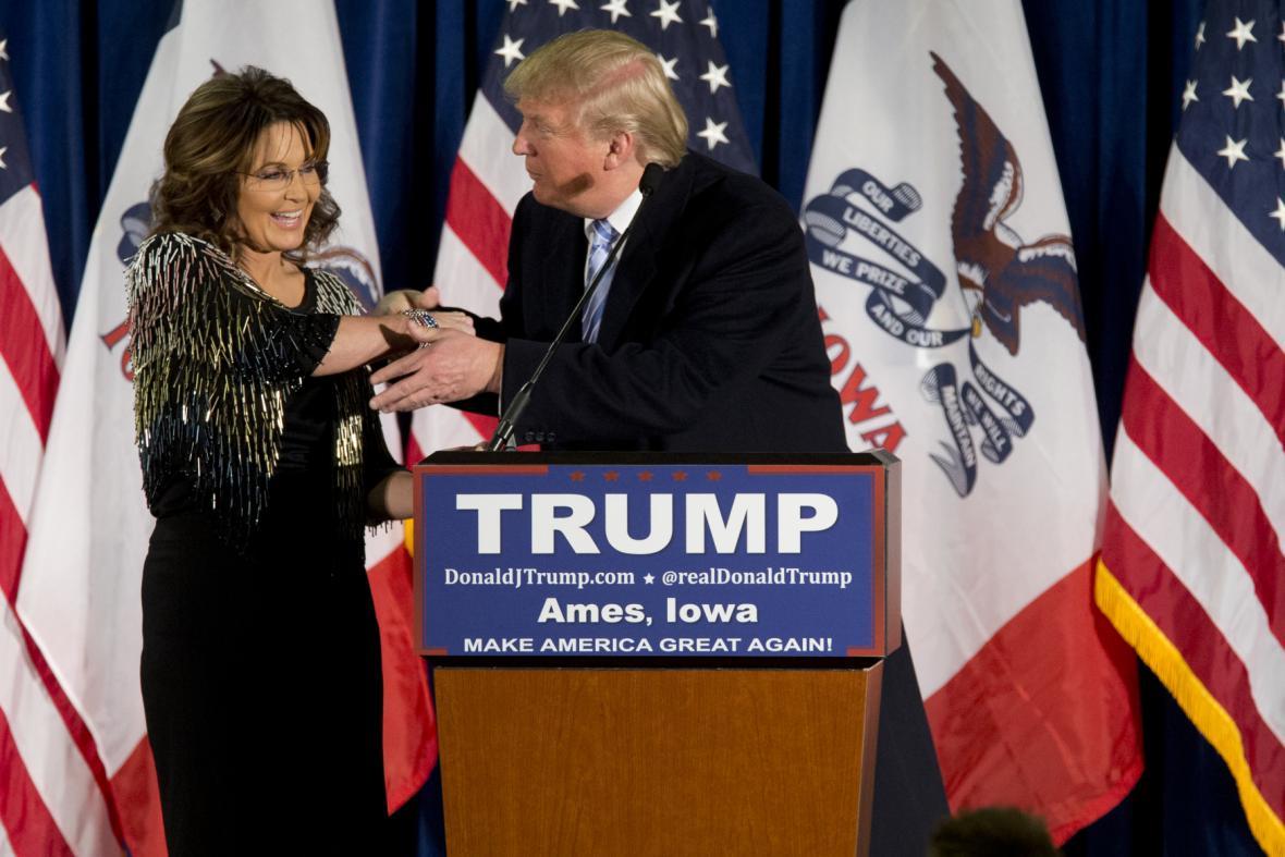 Sarah Palinová a Donald Trump