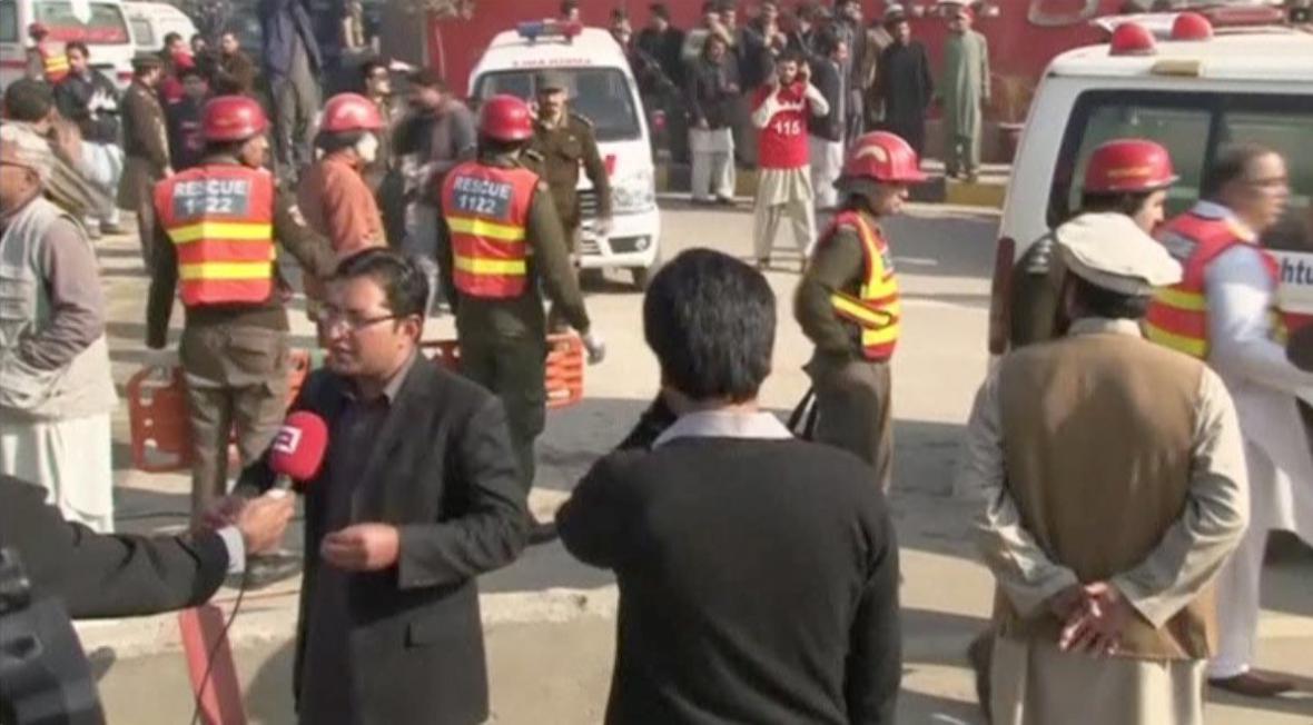 Útok na pákistánskou univerzitu
