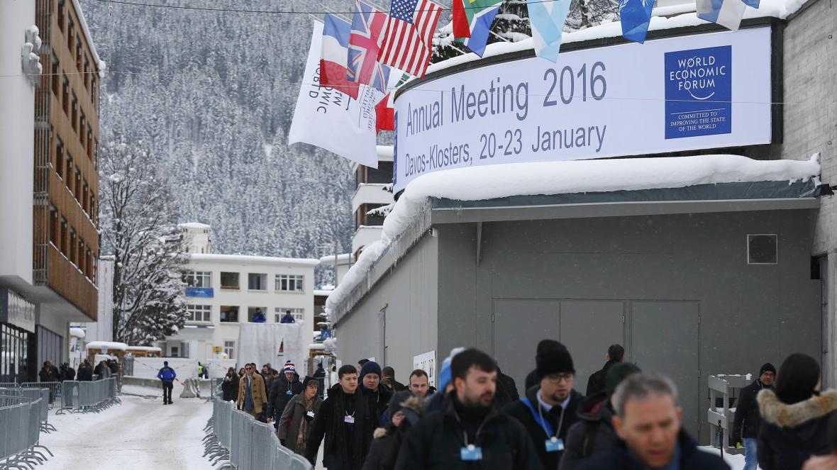 Světové ekonomické fórum 2016
