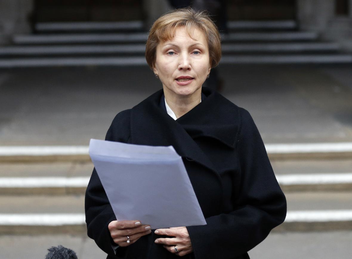 Vdova Marina Litviněnková