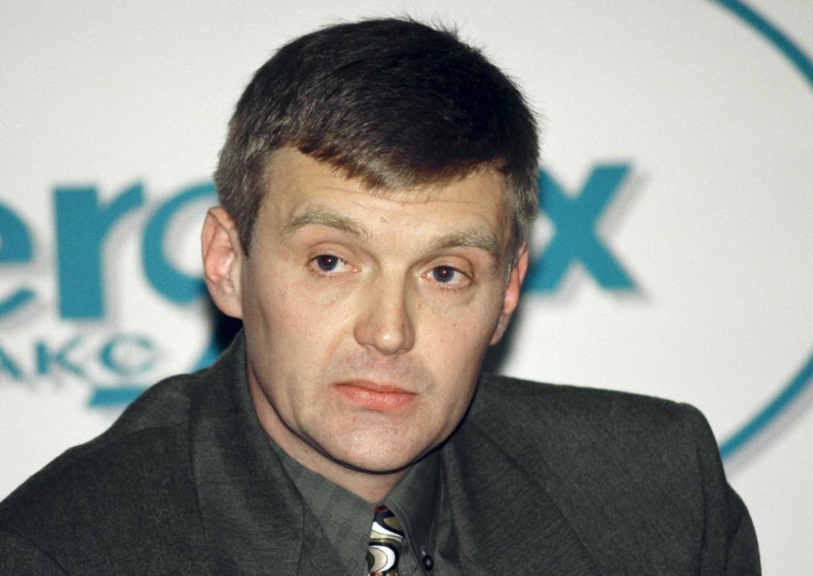 Alexander Litviněnko na snímku z roku 1998