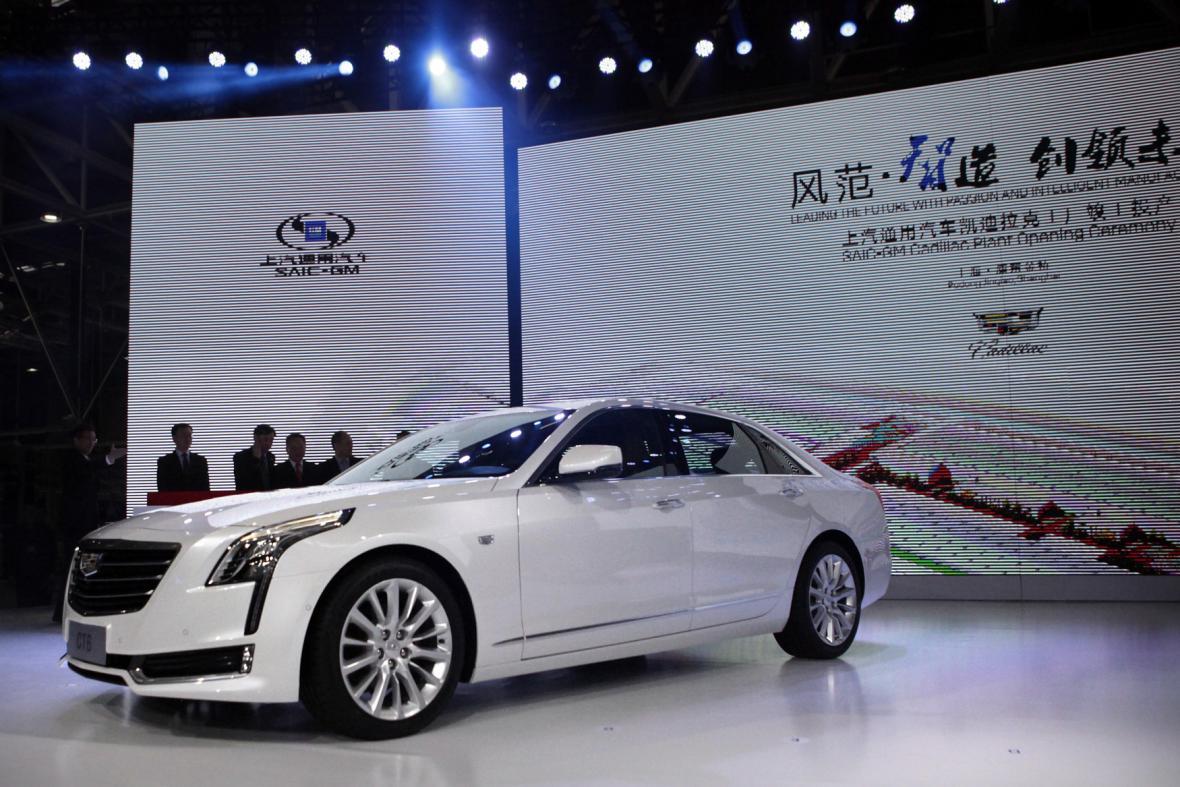 Cadillac hodlá posílit svou pozici v Číně