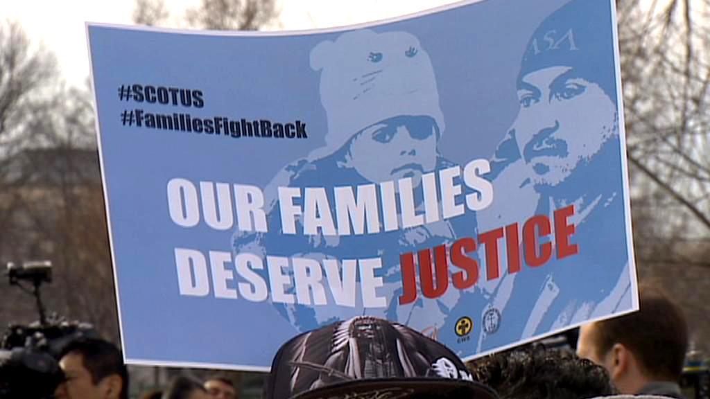 Demonstrace imigrantů v USA