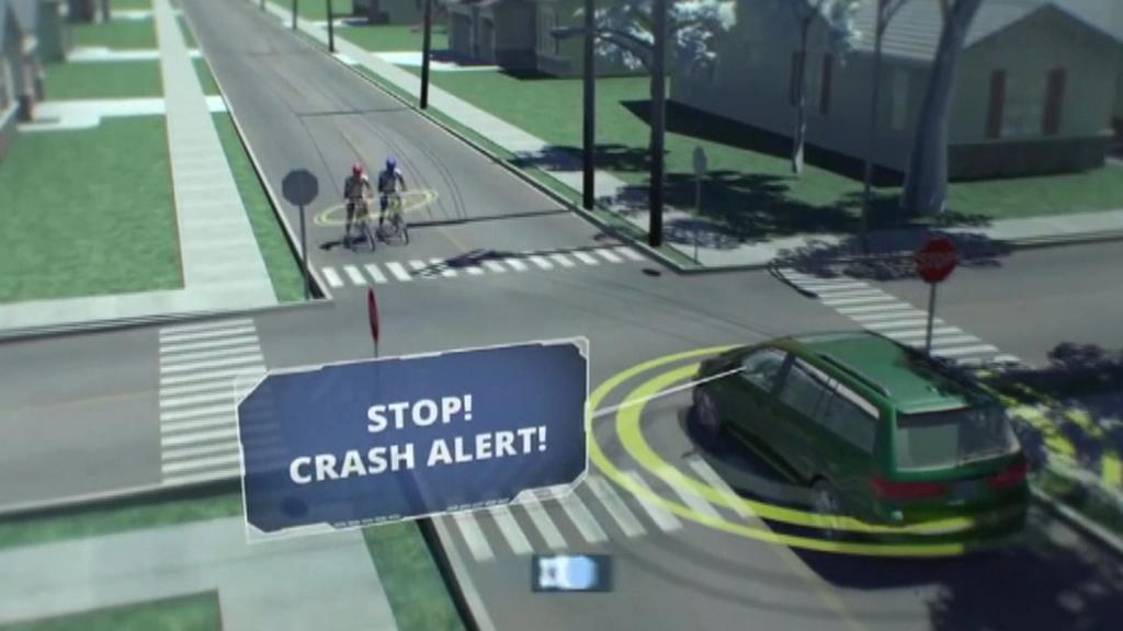 Aplikace má řidiče varovat před nebezpečím