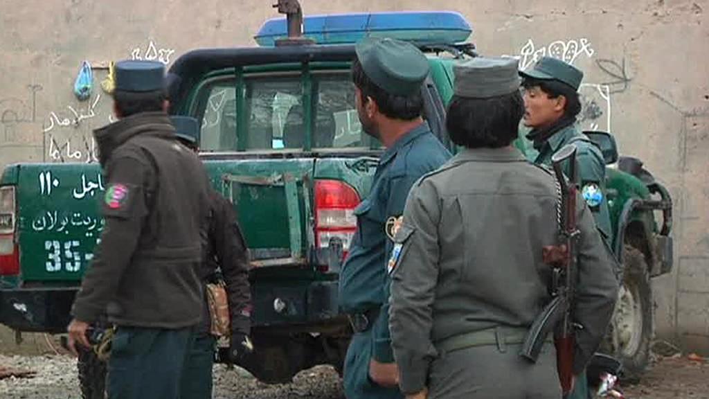 Afghánské bezpečnostní síly