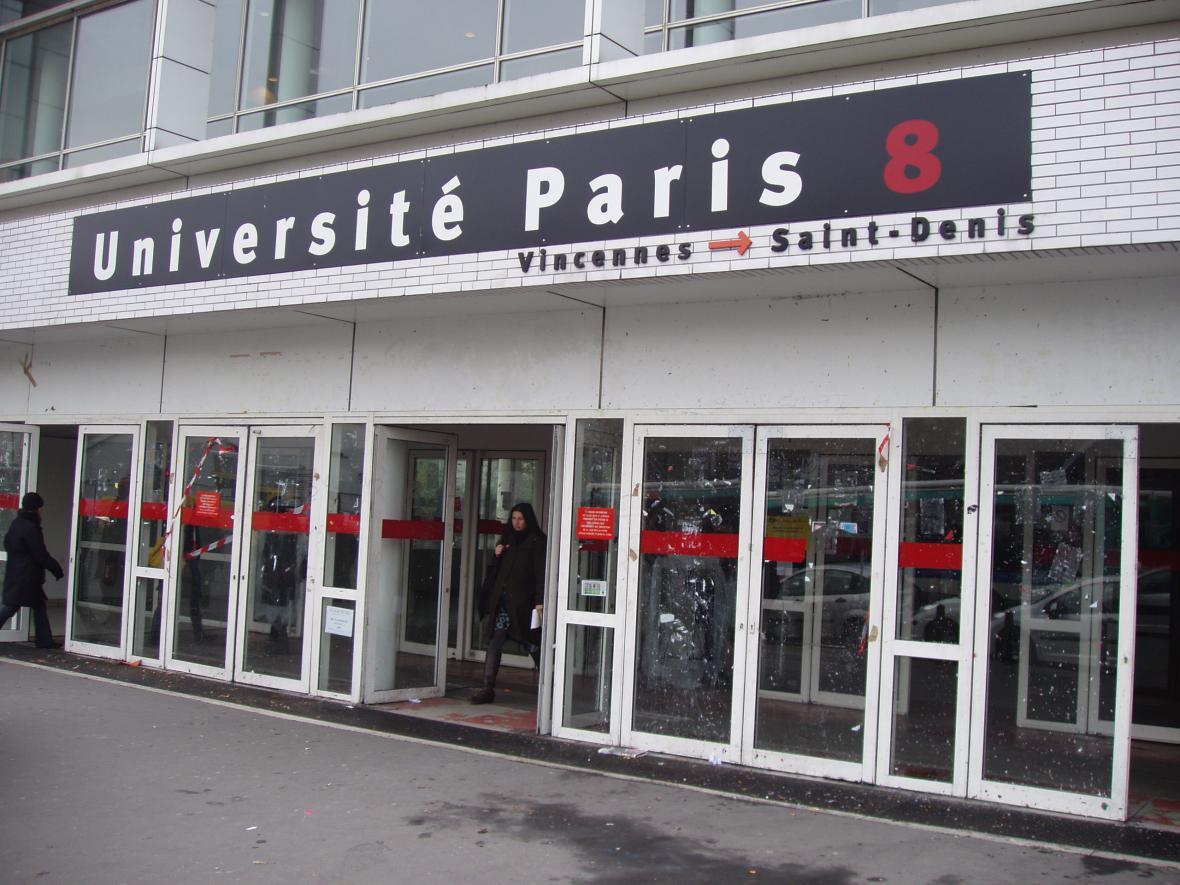 Univerzita Paris 8 Vincennes Saint-Denis v roce 2009