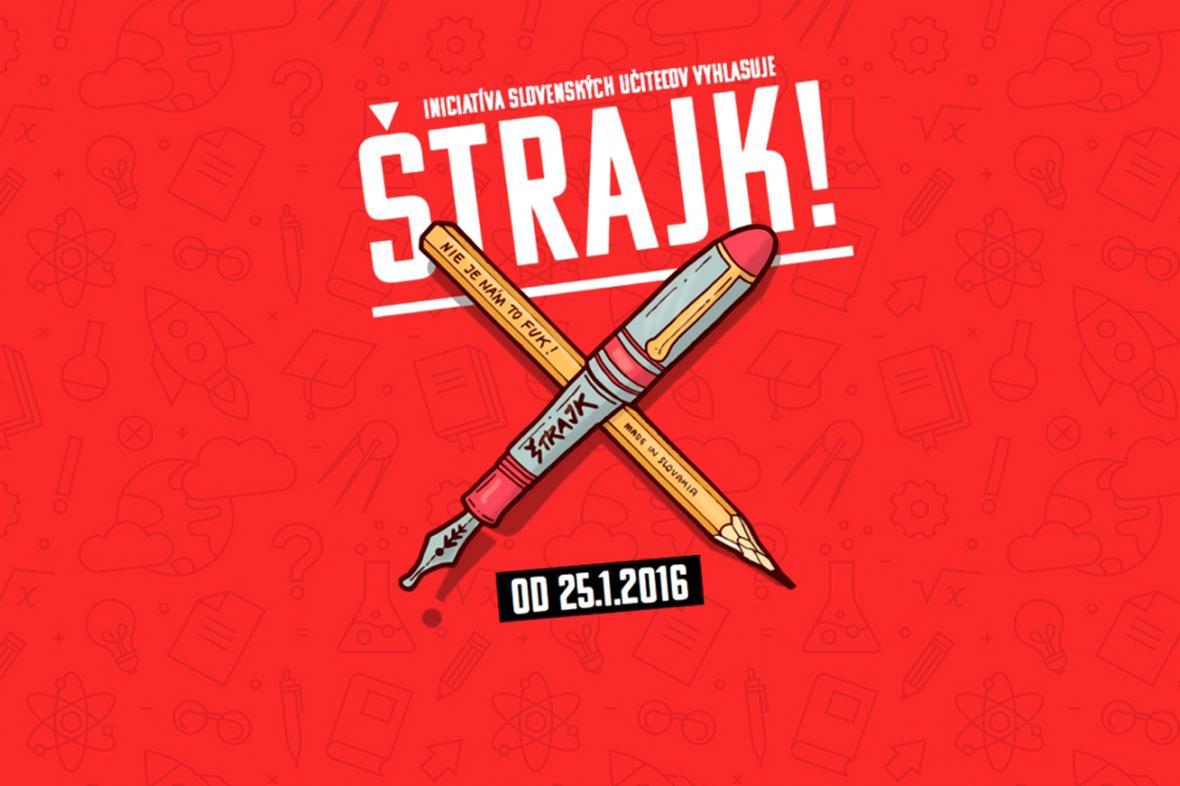 Stávka slovenských učitelů